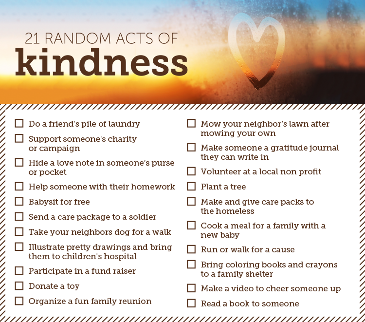 Spread the Love with the Random Acts of Kindness Generator